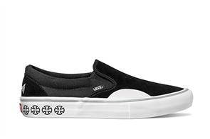 Vans Slip-On Pro Shoes, (Independent) Black White