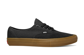 Vans Authentic Pro Shoes, Black Classic Gum