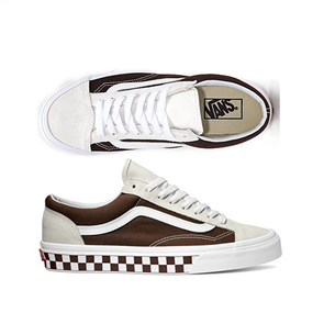 Vans Style 36 Shoes, (Bmx Checkerb) White