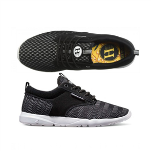 DVS Premier 2.0 Black Grey Knit Mad Hueys