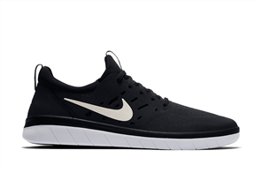 Nike SB Nyjah Free Shoe, Black White