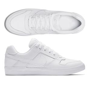 Nike SB Delta Force Vulc Skateboarding Shoe, White