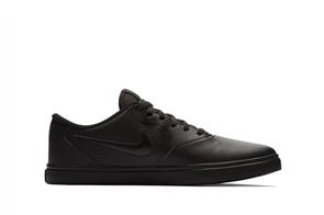 Nike Mens SB Check Solarsoft Shoe, Black Black