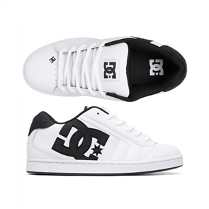 DC Net SE Mens Shoe, White White Black