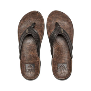 Reef J - Bay 111 Mens Jandal, Dark Brown