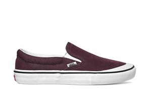 Vans SLIP-ON Pro Shoes, Rasin White