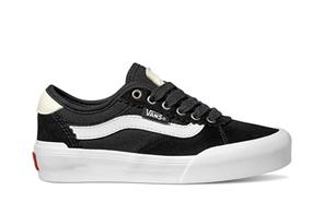 Vans Chima Pro 2 Shoes (Suede/Canvas), Black White