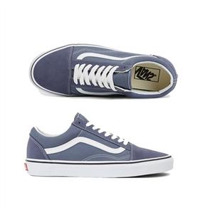 Vans Ua Old Skool Shoes, Grisaille Wht Blue