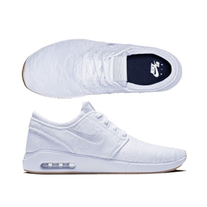 Nike Sb Air Max Janoski 2 Shoes, 100, White Gum