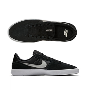 Nike Sb Team Classic Shoes, 003, Black White
