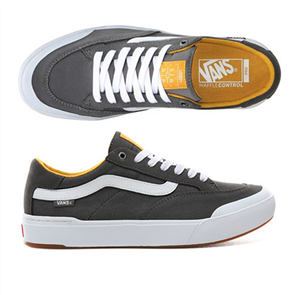 Vans Mens Berle Pro Shoes Pewter Mango, Mojito