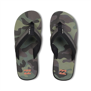 Billabong All Day Impact Prints Jandal, Camo