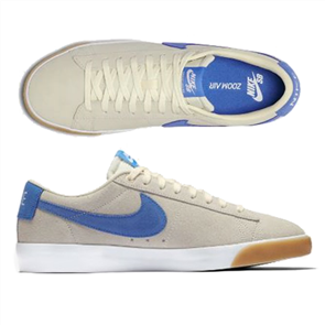 Nike SB Blazer Low GT Skate Shoe, White