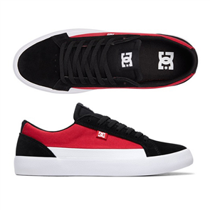 DC Lynnfield Shoe, Black/ Red/ White