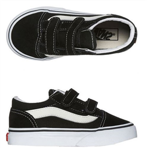 Vans TODDLER OLD SKOOL VELCRO SHOE