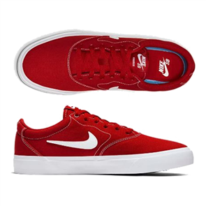 Nike SB CHARGE CANVAS SHOE, MYSTIC RED/WHITE-MYSTIC RED-BLACK