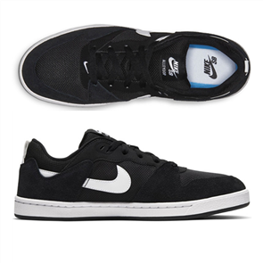 Nike SB ALLEYOOP SHOE, BLACK/WHITE