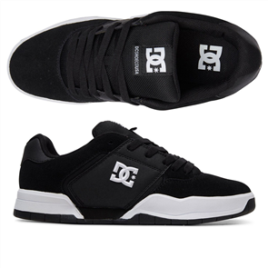 DC CENTRAL SHOE, BLACK/WHITE