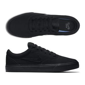 Nike SB CHARGE CANVAS SHOE, BLACK/BLACK-BLACK