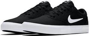 Nike SB CHARGE CANVAS SHOE, BLACK/WHITE-BLACK