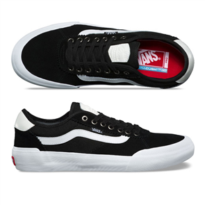 Vans CHIMA PRO 2 SHOES, SUEDE BLACK