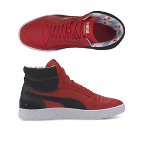 PUMA RALPH SAMPSON MID CHICAGO MID SHOES, High Risk Red