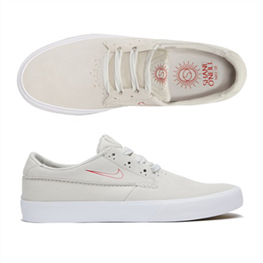 Nike SB SHANE SHOE, SUMMIT WHITE /UNI RED