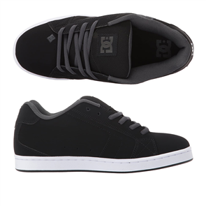 DC NET SE MENS SHOE, BLACK/GREY