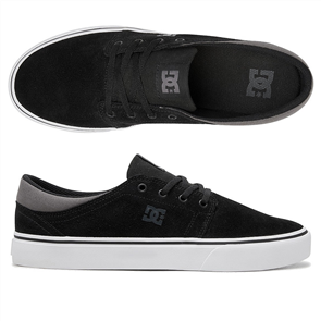 DC TRASE SD MENS SHOE, BLACK/BLACK/GREY