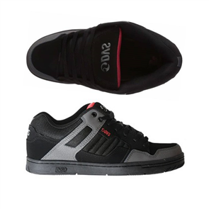 DVS Enduro 125 Shoe, Black/ Charcoal/ Orange