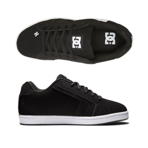 DC NET Shoe, BLACK/BLACK/WHITE