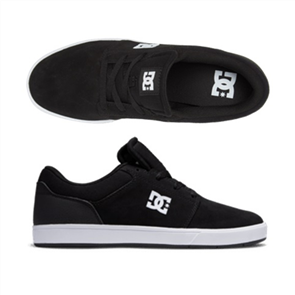 DC CRISIS 2 Shoe, BLACK/WHITE
