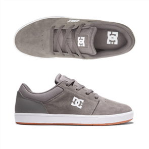 DC CRISIS 2 Shoe, DARK GREY/WHITE