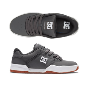DC CENTRAL Shoe, GREY/WHITE