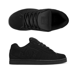 DC NET Shoe, BLACK/BLACK/BLACK