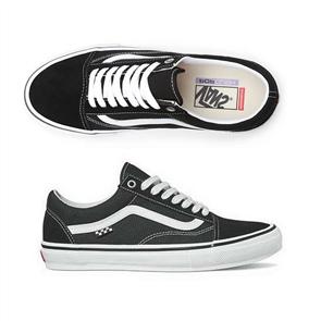 Vans Unisex Skate Old Skool Shoe, Black/ White