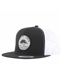 Salty Crew Henshall Trucker, Black White