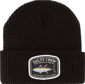 Salty Crew Pacific Beanie, Black
