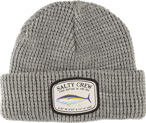 Salty Crew Pacific Beanie, Light Grey