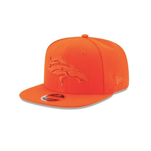 New Era DENVER BRONCOS METALLIC MARK ORANGE CAP, OSFA