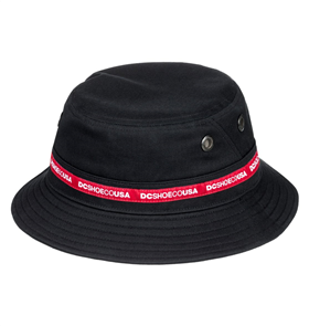 DC Tapers Bucket Snapback Cap, Black