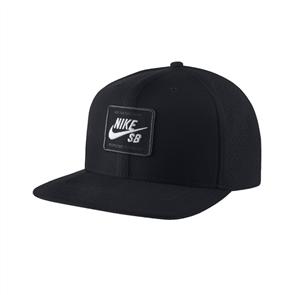 Nike SB AeroBill Pro 2.0 Cap, Black/ White