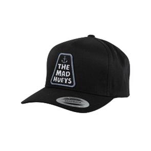 The Mad Hueys SINKER SNAPBACK HAT, BLACK