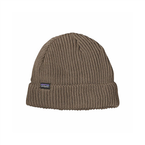 Patagonia Fishermans Rolled Beanie, Ash Tan