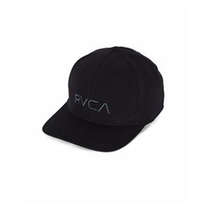 RVCA RVCA FLEX FIT CAP, BLACK