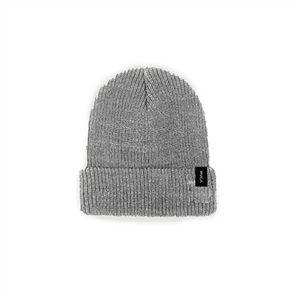 RVCA DAYSHIFT III BEANIE, HEATHER GREY