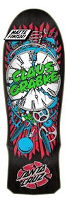 Santa Cruz GRABKE EXPLODING CLOCK REISSUE DECK 10.0IN X 30.0IN