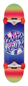 Santa Cruz IRIDESCENT DOT LARGE 8.25IN X 31.5IN SKATE COMPLETE