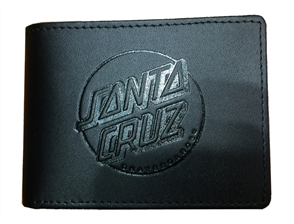 SPY Santa Cruz Classic Dot Slim Leather Wallet