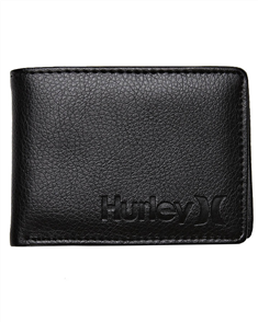 Hurley One & Only Pu Wallet, Blk